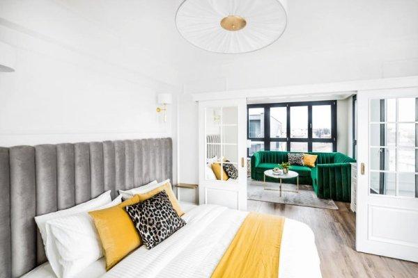 Camera da letto Apartament Golden Place 2 a Cracovia