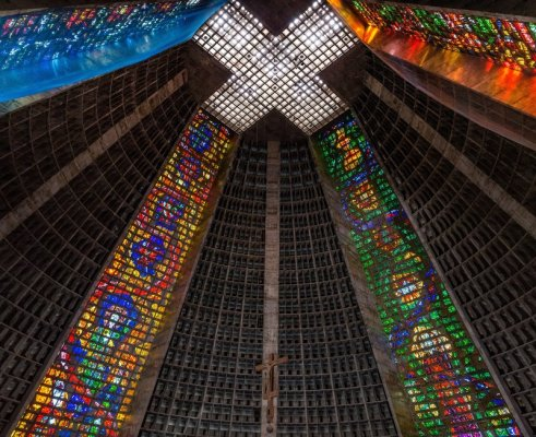 La Catedral de São Sebastião a Rio de Janeiro