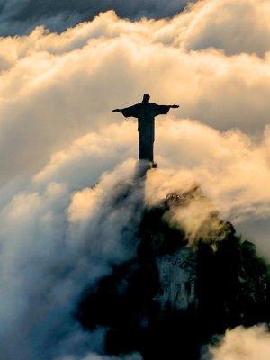 La statua del Cristo Redentore a Rio de Janeiro
