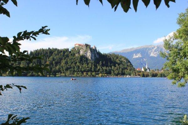 Il castello di Bled in Slovenia
