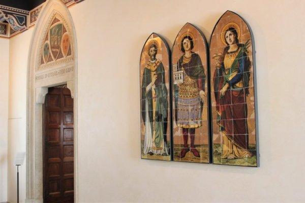 Corridoio interno del Palazzo Pubblico di San Marino