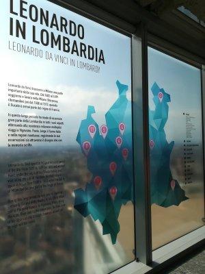 La mappa delle opere di Leonardo in Lombardia