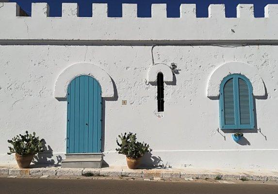 Una abitazione caratteristica a Leuca nel Salento