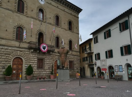Ufficio IAT in piazza Matteotti a Greve in Chianti