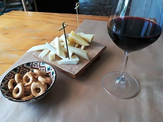 Aperitivo al Bar da Carlo a Porto Badisco in Salento