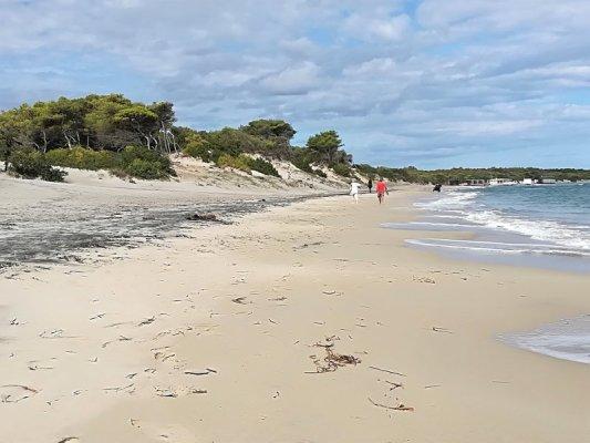 La spiaggia di Alimini nel Salento