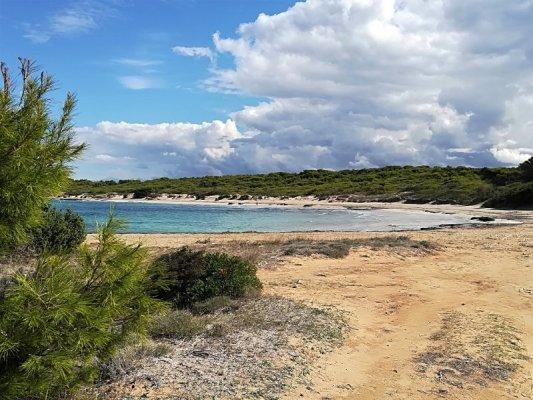 La spiaggia di Punta Pizzo nel Salento ionico