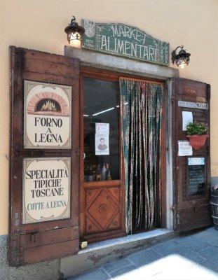 Bottega di alimentari a Panzano in Chianti