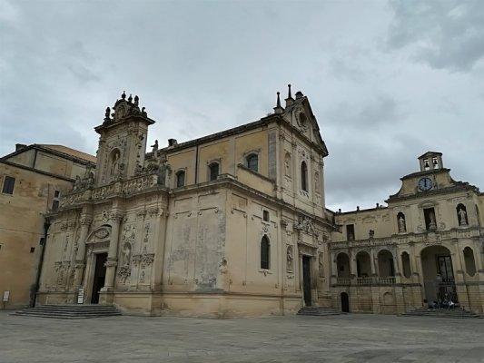Il Duomo ed il palazzo Vescovile di Lecce