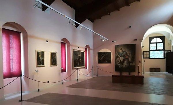 Una sala del Museo Diocesano di Lecce