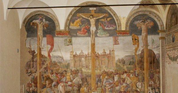 La Crocifissione di Giovanni Donato Montorfano Milano