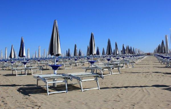 La spiaggia di Levante a Caorle