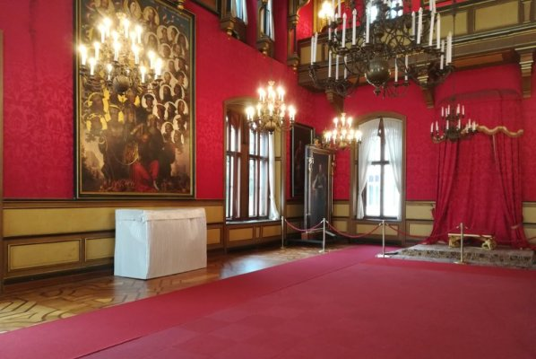 La Sala del Trono al Castello di Miramare a Trieste