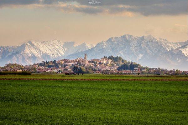 Panorama del borgo di San Daniele del Friuli