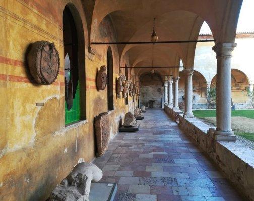 Il chiostro del convento di Bassano del Grappa