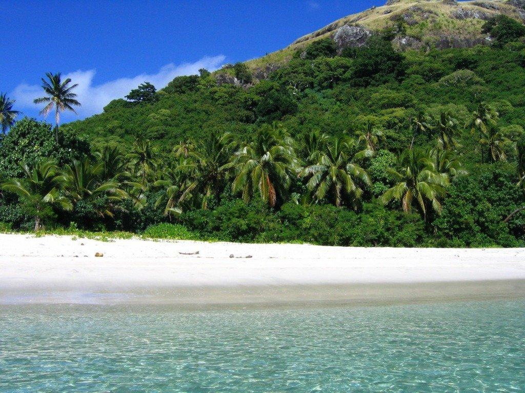Natura incontaminata Fiji
