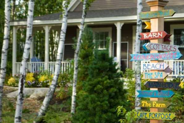Fall Foliage Getaway: Hidden Pond Resort in Maine