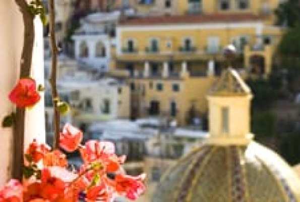 "The ""Secret Garden"" in Positano"