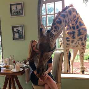 Return to Giraffe Manor in Kenya