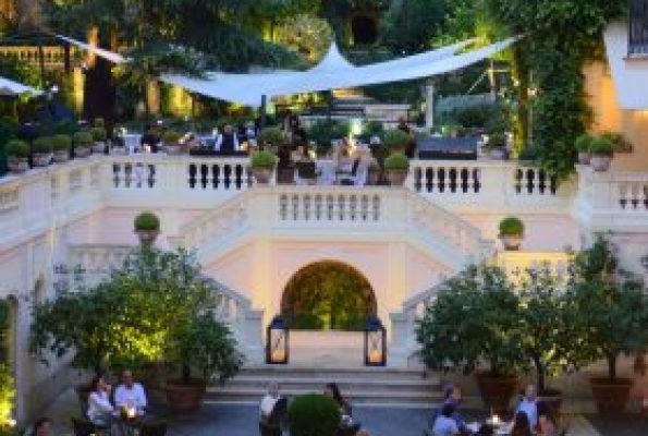 Just Checked Out: Hotel De Russie, Rome