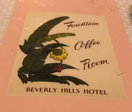 Back to the Beverly Hills Hotel