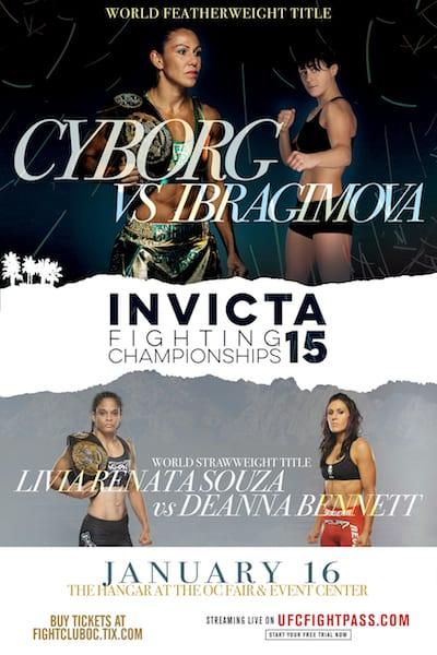 Invicta FC 15  Invicta Fighting Championships