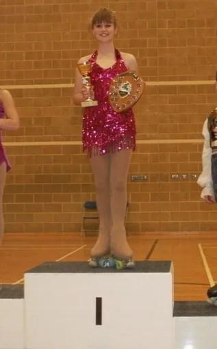 Rosie - British Espoir Solo Dance Champion April 2014
