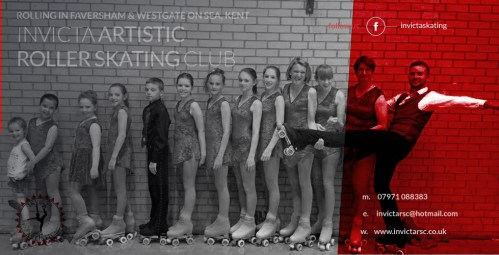 Invicta Artistic Roller Skating Club - Rolling in Faversham and Thanet, Kent
