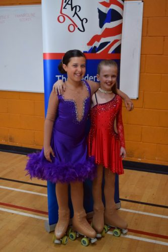The 2 Ruby's at Mini Solo dance championships 2016
