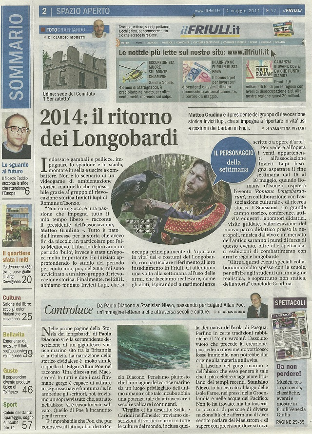 06 - Il Friuli - 3 maggio 2014