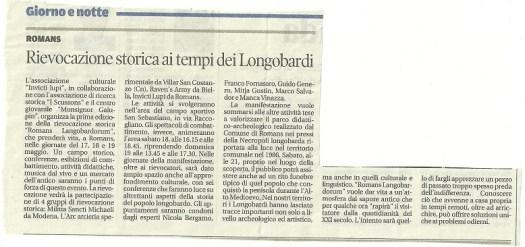 13 maggio 2013 - Messaggero Veneto