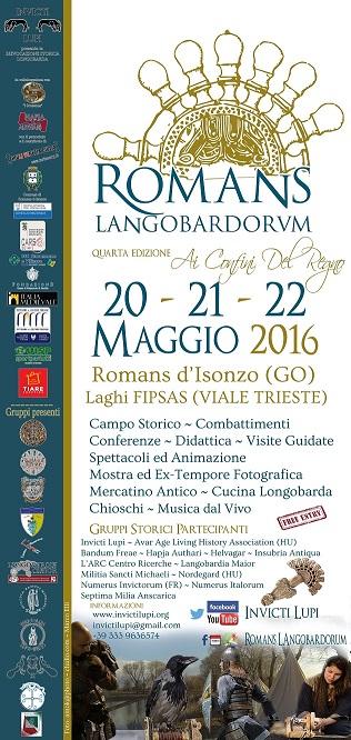 Locandina 33x70 Romans Langobardorum 2016 web