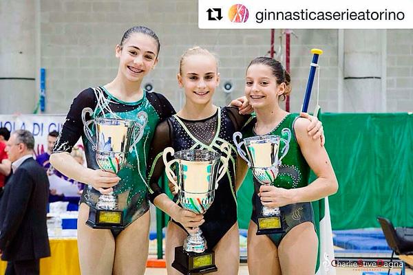 Finali Nazionali GOLD 2017 – Matilde De Tullio vice-campionessa italiana!