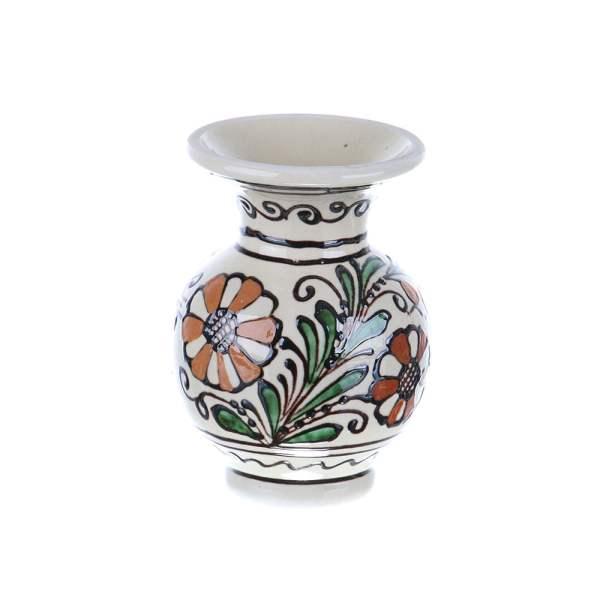 Vaza ceramica colorata Corund 12 cm