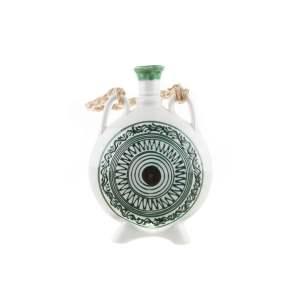 Ploscă mare pentru vin ceramică Sitar Baia Mare 1200 ml