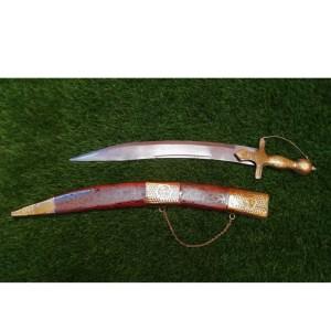 DECORATIVE PUNJABI SWORD (Tega) WITH SHEESHAM COVER