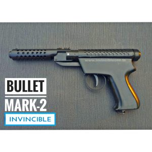 Bullet Mark 2 Full Black Air Pistol (Metal body)