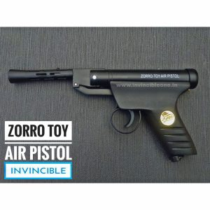ZORRO TOY AIR PISTOL (FULL METAL BLACK COLOUR)