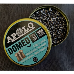APOLO DOMED(9 grain pellets)(177/4.5mm) Made In Argentina