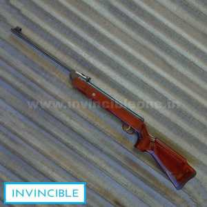 SISCO FIBER STOCK(WOOD COLOUR)(.177 CAL)(2 STAGE TRIGGER)