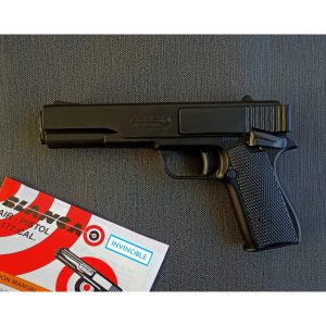 Blanca Air Pistol – 0.177 cal Multi-Load Pull Back Mechanism Shoots Both BB and Pellets!!! – Free accessories(GLOSSY BLACK COLOUR)
