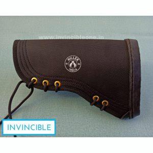 Gun Butt Cover, 23 cm x 15 cm x 6  Carry Case/Cover Free Size (BLACK FIBER)