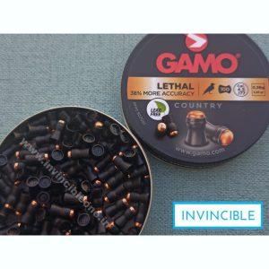 GAMO LETHAL PELLETS.177 CAL,5.56 GRAINS (38% MORE ACCURACY)