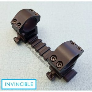 11mm RAIL INTO 20mm RAIL CONVERTER WITH 20mm AIR GUN MOUNT(DOUBLE SCREW MOUNT)