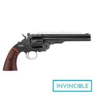 "Schofield 6"" Pellet Revolver Black(VERY POWERFUL)"