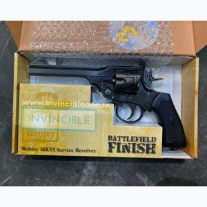 Webley MKVI Co2 Pellet Revolver(6 inch barrel)(Battlefield Finish)