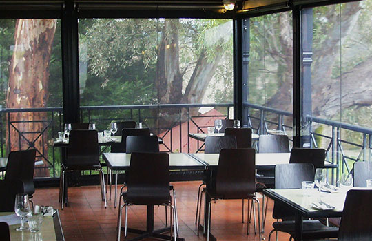 Tinted Café Blinds Adelaide | Tinted PVC Blinds Adelaide