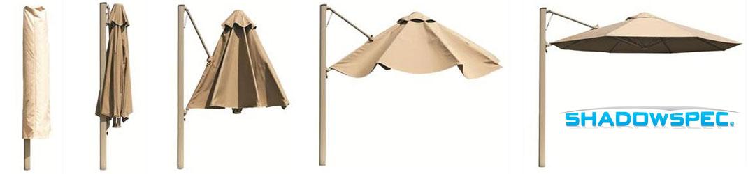 Rotating Cantilever Umbrellas
