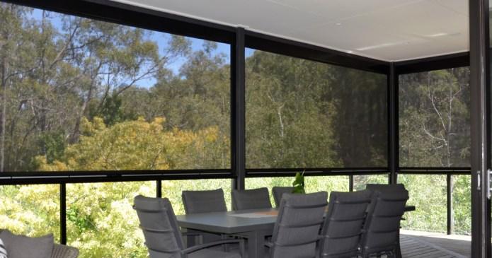 Windproof Outdoor Blinds Adelaide | Outdoor Shade Mesh Blinds