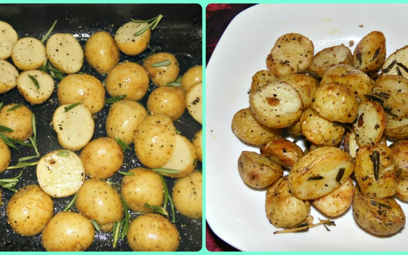 Oven Roasted Rosemary Baby Potatoes